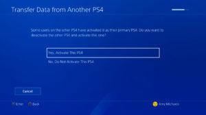 Kak perenesti vashi dannyye s PS4 na PS4 Pro