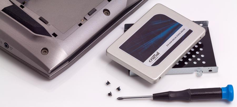 установите новый SSD