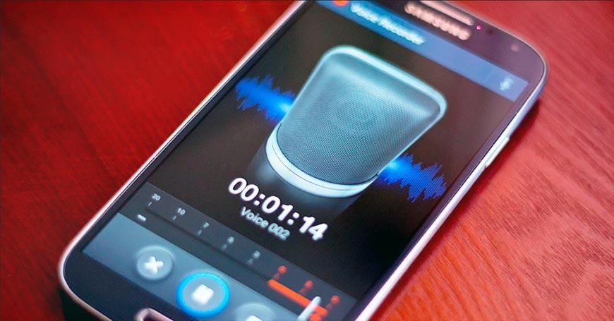 Приложения для записи телефонных разговоров