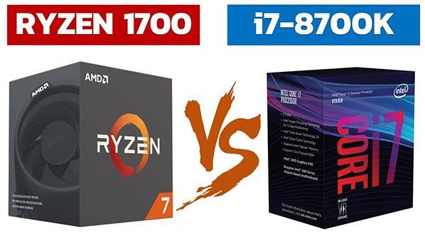 i7-8700K против Ryzen 7 и i7-7700K