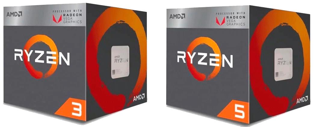 Дизайн упаковки Ryzen