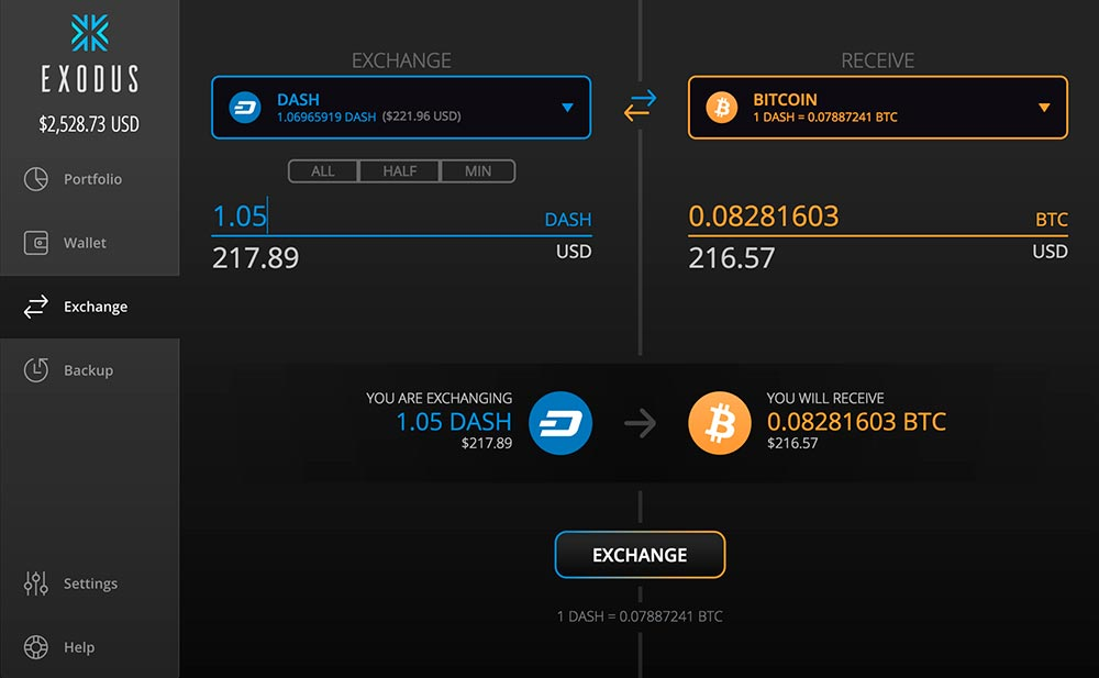 Exchange Exodus