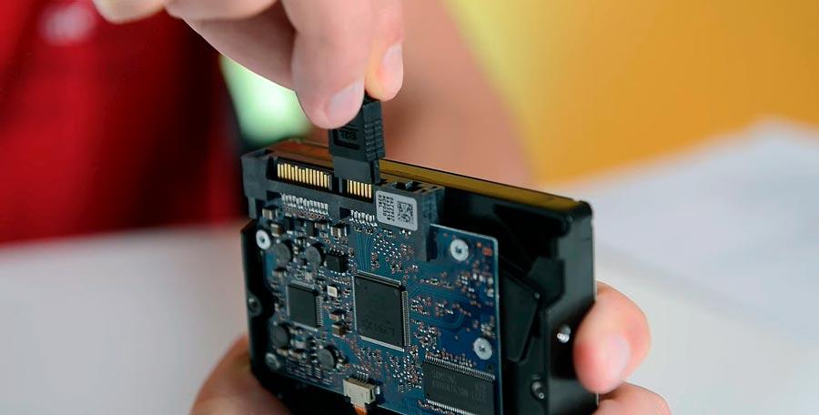 Подключение HDD