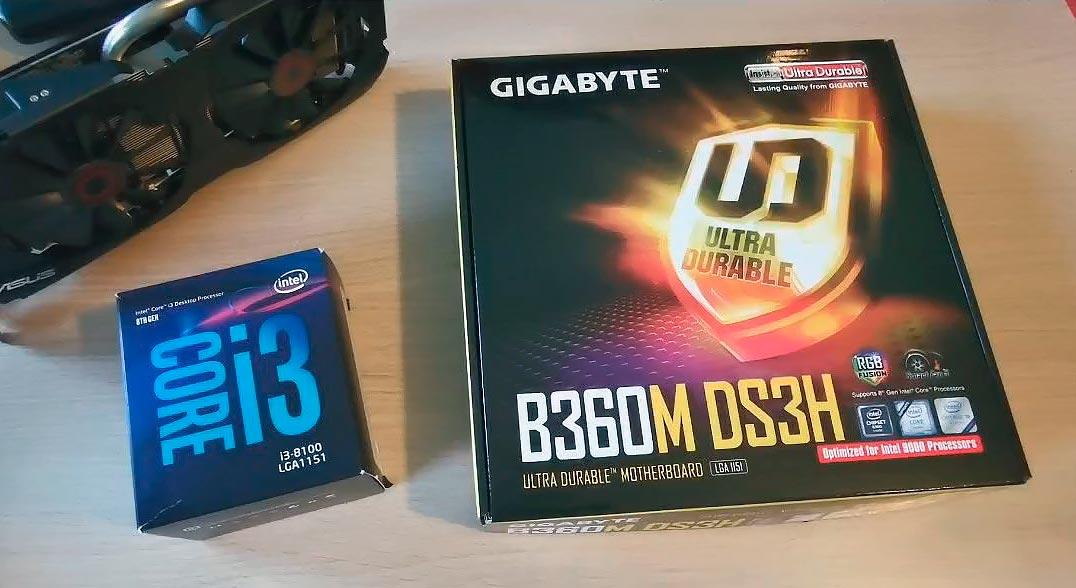 Лучшая сборка на Intel i3 8100