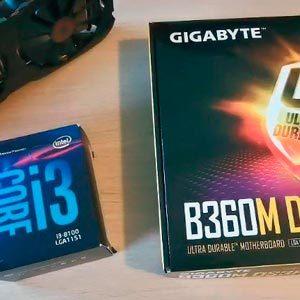 Лучшая сборка на Intel i3 8100. Когда бюджет не приговор