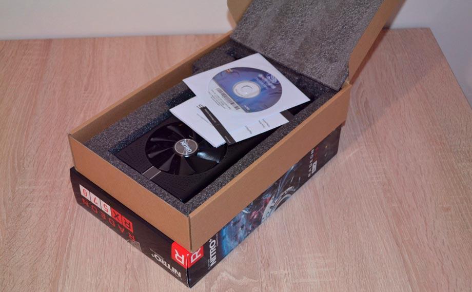 AMD Radeon RX 570 8 Гбайт.