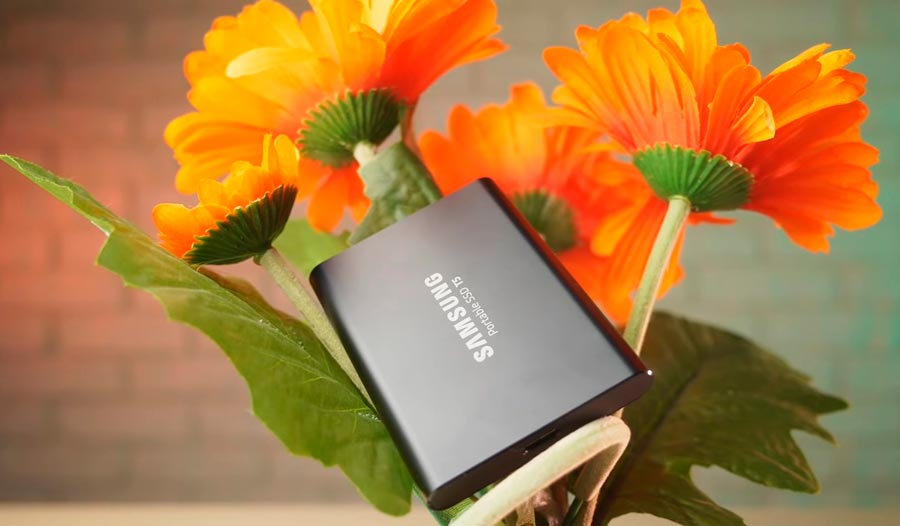 SSD Samsung Portable T5