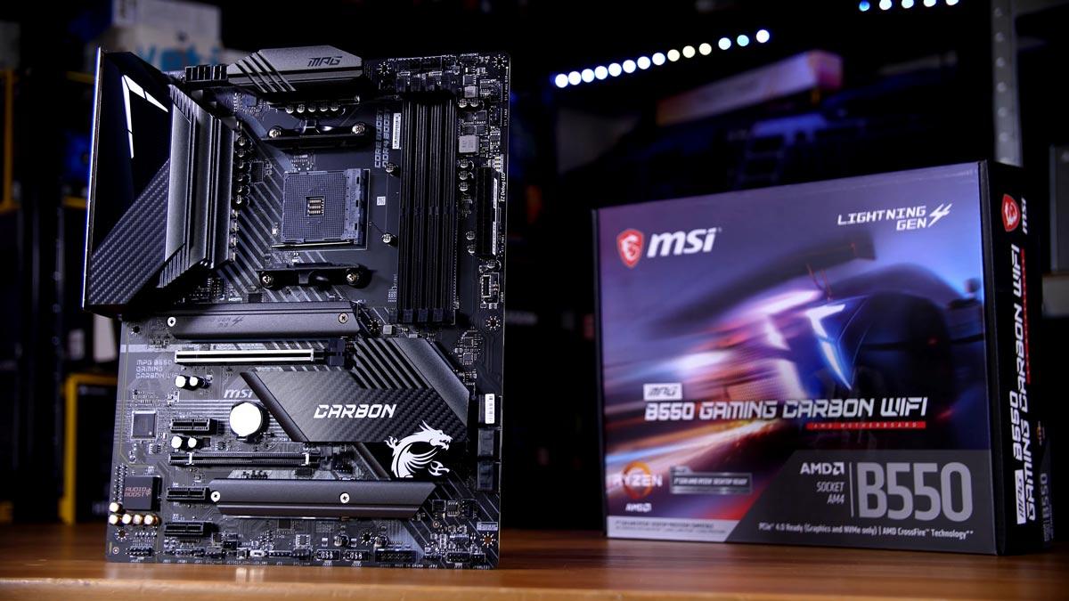 MSI MPG B550 Gaming Carbon